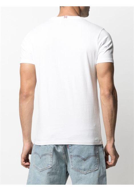 White cotton Gin Tonic graphic-print T-shirt  MC2 |  | TSHIRT-EMB GIN TONI01N