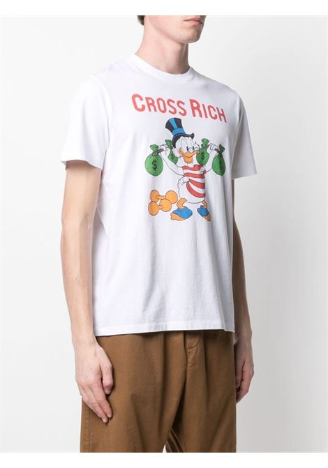 T-shirt Scrooge Lifter in cotone bianco MC2 | T-shirt | TSHIRT-SCROOGE LIFTER01