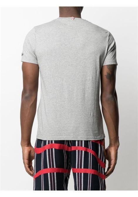 Grey cotton Smurf print Go Big or go home T-shirt  MC2 |  | TSHIRT-STRONG SMURF15M