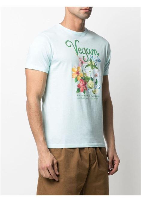 light green cotton Vegan Mojito print T-shirt  MC2 |  | TSHIRT-VEGAN MOJITO56