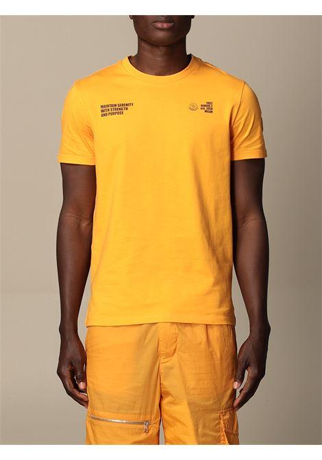 Orange cotton Maintain Serenity T-shirt  MONCLER GENIUS |  | 8C729-10-829HP33B