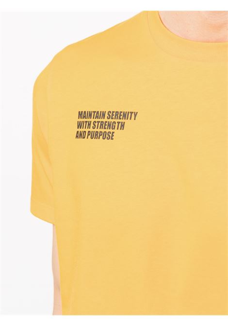 T-shirt Maintain Serenity in cotone arancione MONCLER GENIUS | T-shirt | 8C729-10-829HP33B