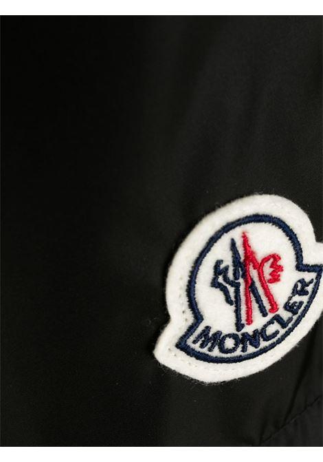 costume da bagno corto nero con logo Moncler MONCLER | Costumi | 2C708-00-53326999