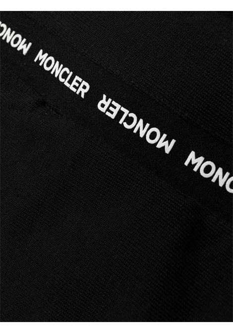 Black cotton track pants featuring Moncler logo-embellished side panels MONCLER |  | 8H732-00-809KR999