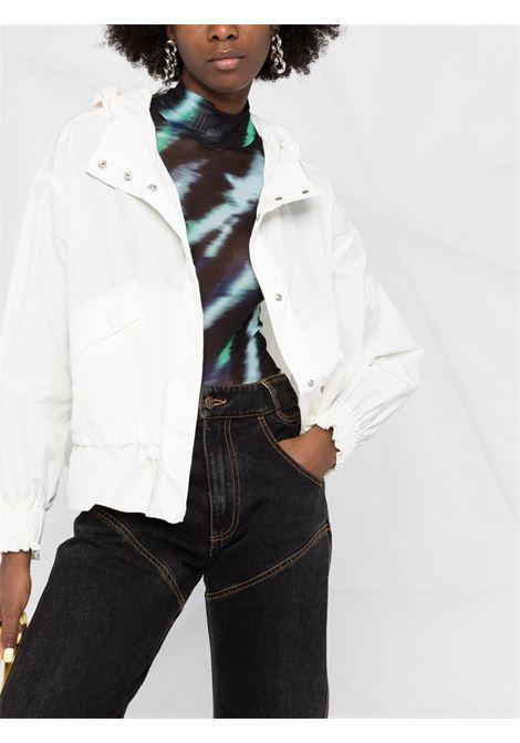 Giacca bianca con cappuccio Albireo con Moncler MONCLER | Giubbini | ALBIREO 1A770-00-539SS033