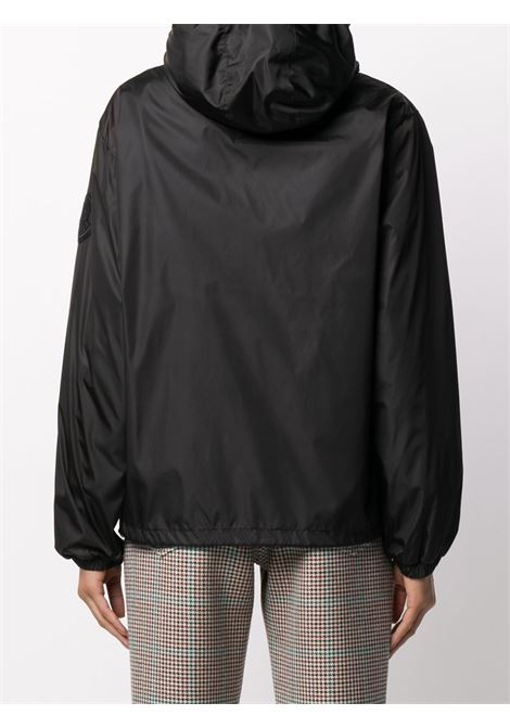 Giubbino nero in nylon leggero con chiusura frontale a zip MONCLER | Giubbini | ALEXANDRITE 1A721-00-C0417999
