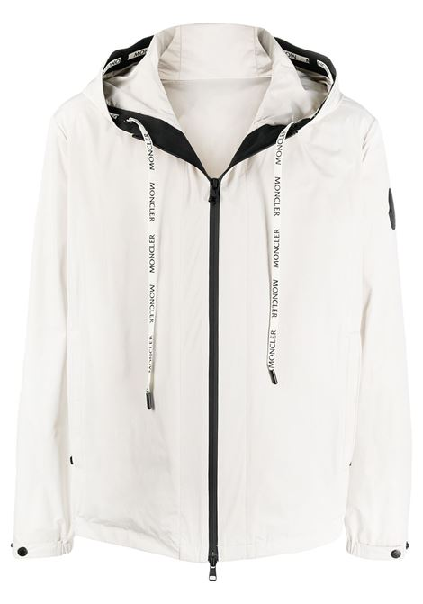 Chalk white Carles hooded jacket featuring Moncler logo MONCLER |  | CARLES 1A750-00-54A91203