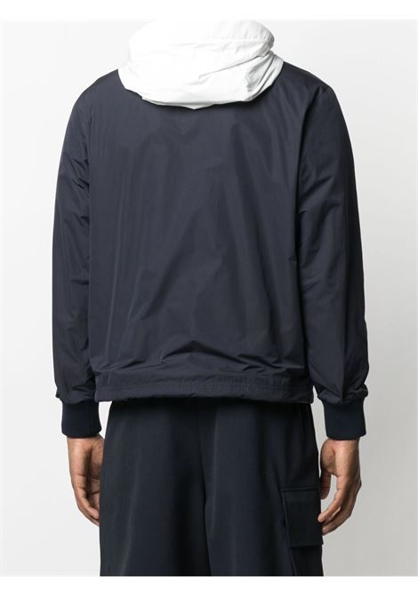 Navy and white Chabat zip-up windbreaker   MONCLER |  | CHABAT 1A751-70-54A9174S
