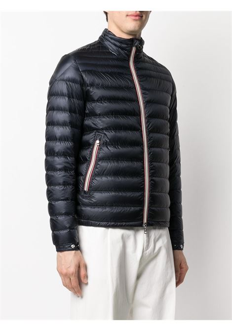 Midnight blue feather down Daniel zipped quilted jacket  MONCLER |  | DANIEL 1A109-00-53279776
