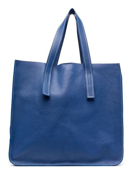 Egyptian-blue leather large Farry tote bag  P.A.R.O.S.H. |  | D050191I-FARRYBAG083