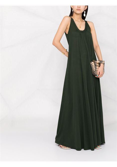 Maxi abito verde scuro P.A.R.O.S.H. | Abiti | D550685-ROIBOS007