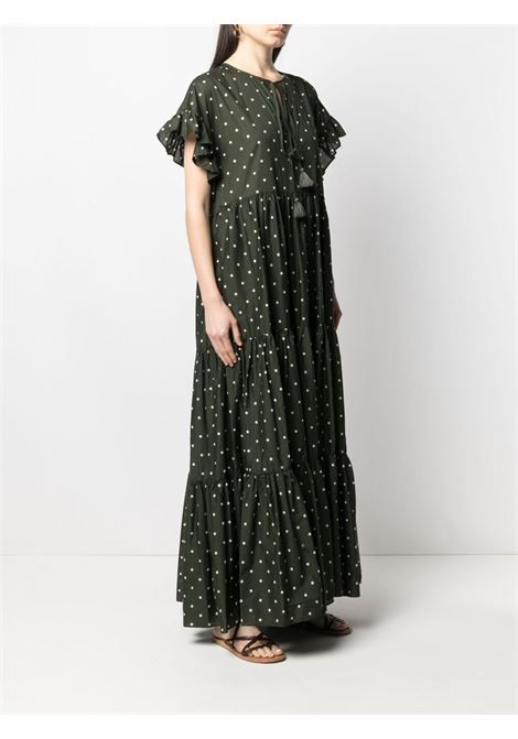 Green cotton Clois maxi-dress  P.A.R.O.S.H. |  | D724145-CLOIS807