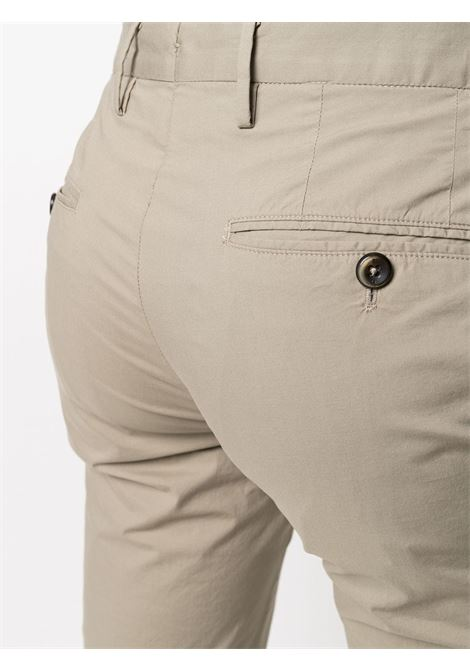 beige cotton blend slim-fit chino trousers  PT01 |  | COKLZEZ00CL1-BP230120