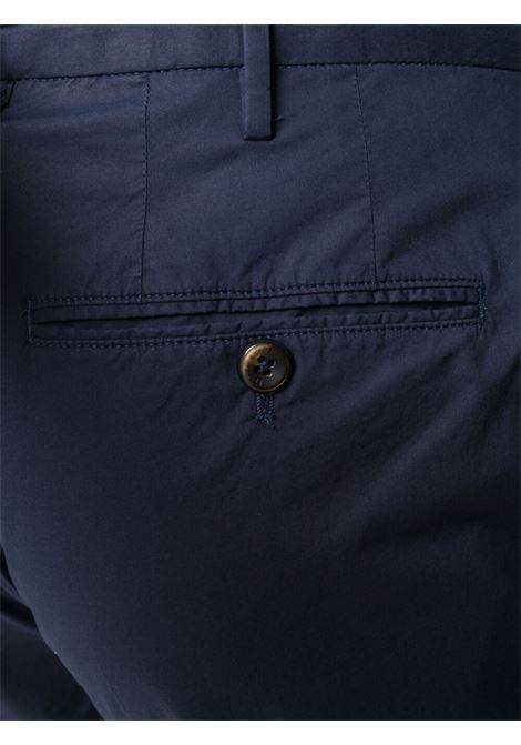 Navy-blue stretch-cotton slim-fit chino trousers  PT01 |  | COKLZEZ00CL1-BP230360