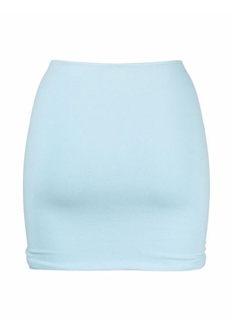 Gonna blu Geraldina in design elasticizzato REINA OLGA | Gonne | GERALDINABABY BLUE TERRY