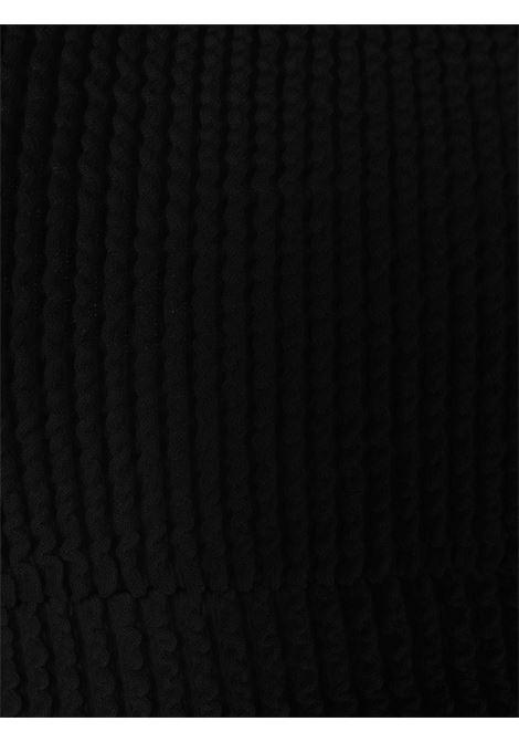 Bikini nero in poliammide con scollo quadrato REINA OLGA | Costumi | GINNY BOOBSBLACK