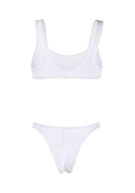 White Ginny scrunch bikini set  REINA OLGA |  | GINNY SCRUNCHWHITE