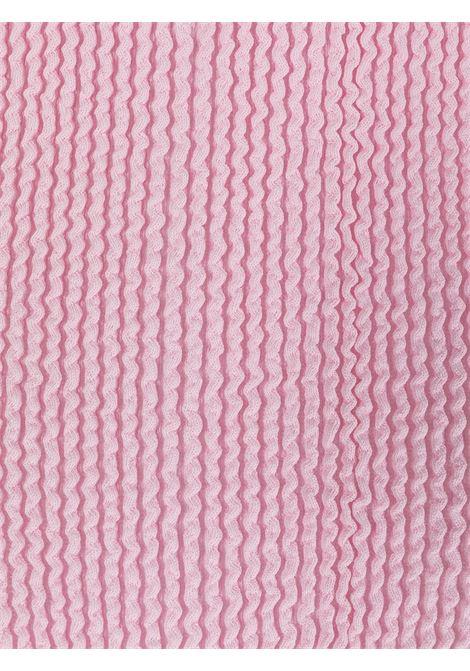 Pastel pink Ruby textured swimsuit  REINA OLGA |  | RUBY SCRUNCHPASTEL PINK