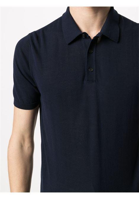 Navy classic cotton polo shirt  ROBERTO COLLINA |  | RE1002410