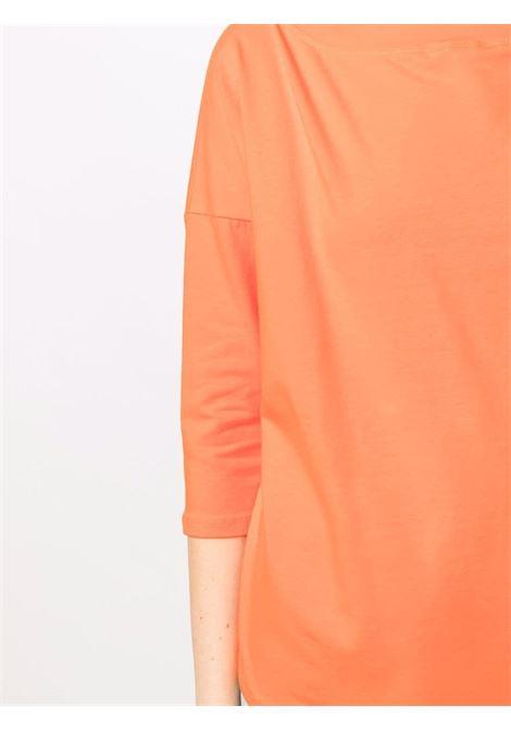 Top con maniche a tre quarti in misto cotone arancione SNOBBY SHEEP | T-shirt | 21S.98010320