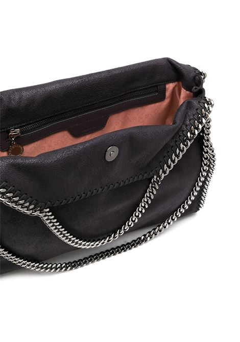 black Falabella shoulder bag with silver chains STELLA MC CARTNEY |  | 234387-W91321100