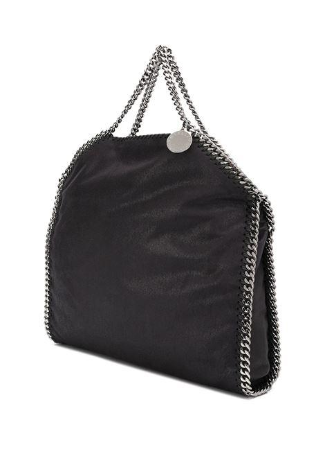 borsa Falabella nera grande con catena silver STELLA MC CARTNEY | Borse a tracolla | 234387-W91321100