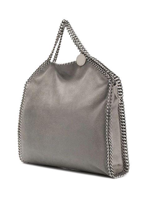 borsa a tracolla grande Falabella grigia con catena silver STELLA MC CARTNEY | Borse a tracolla | 234387-W91321220