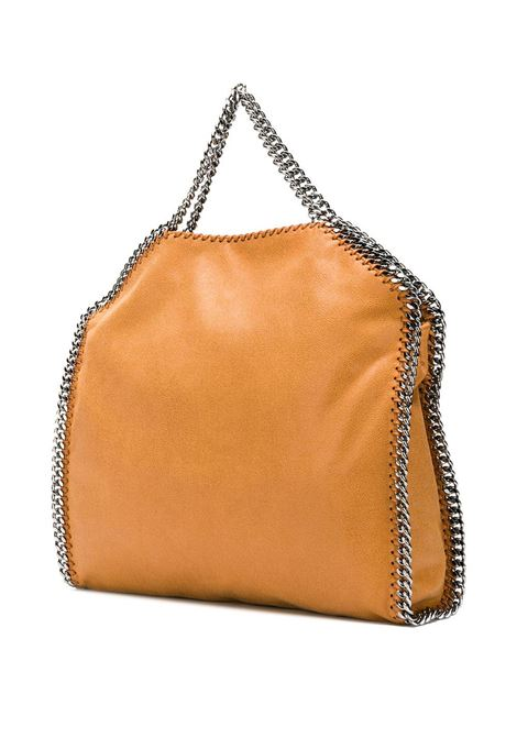 borsa Falabella cammello grande con catena silver STELLA MC CARTNEY | Borse a tracolla | 234387-W91322502