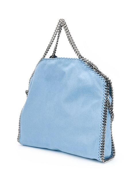black Falabella shoulder bag with silver chains STELLA MC CARTNEY |  | 234387-W91324960