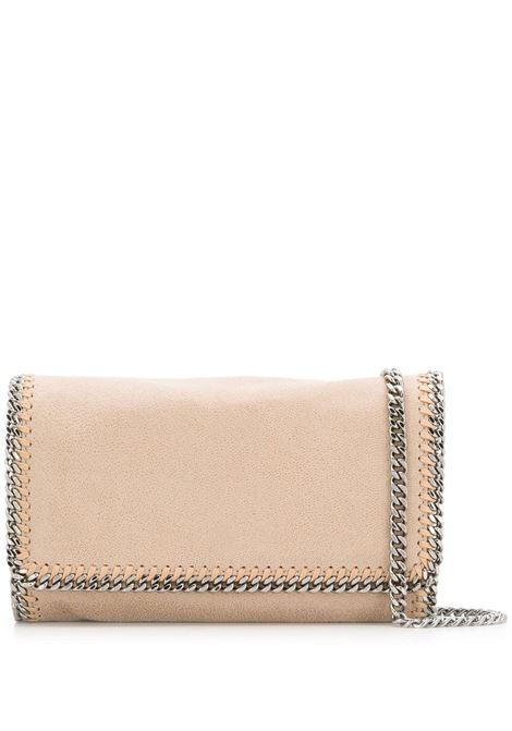 borsa a tracolla Falabella beige con catena silver STELLA MC CARTNEY | Borse a tracolla | 291622-W91329300