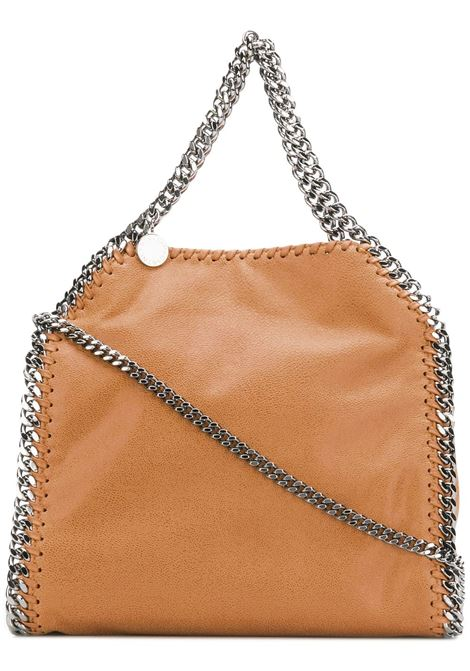 camel tone mini Falabella tote bag with silver chain STELLA MC CARTNEY |  | 371223-W91322502