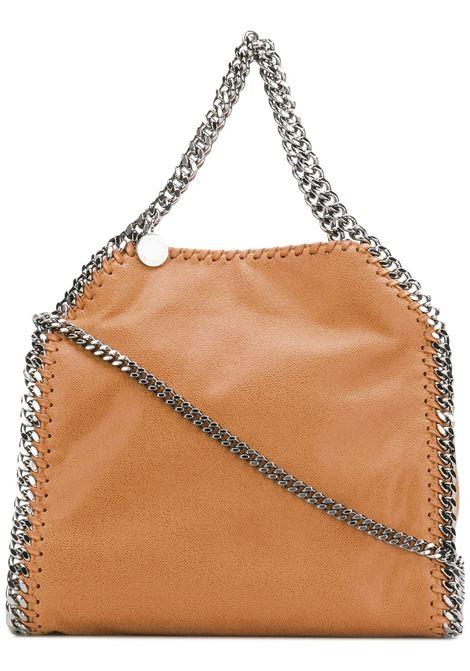 mini Falabella color cammello con catena argento STELLA MC CARTNEY | Borse a tracolla | 371223-W91322502