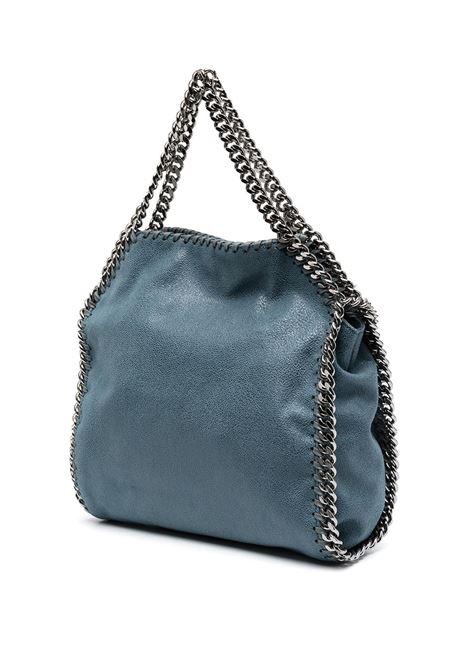 mini tote Falabella in ecopelle blu navy con catena argentata STELLA MC CARTNEY | Borse a tracolla | 371223-W91324313