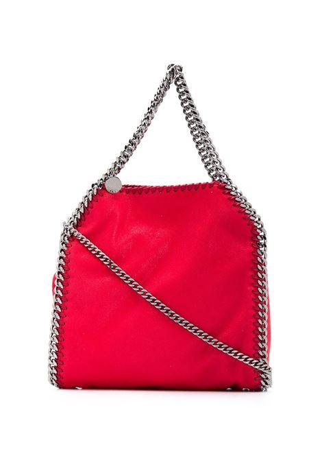 mini Falabella rossa con catena argento STELLA MC CARTNEY | Borse a tracolla | 371223-W91326501