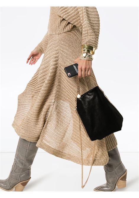 mini borsa Falabella nera in ecopelle con catena color oro STELLA MC CARTNEY | Borse a tracolla | 371223-W93551000