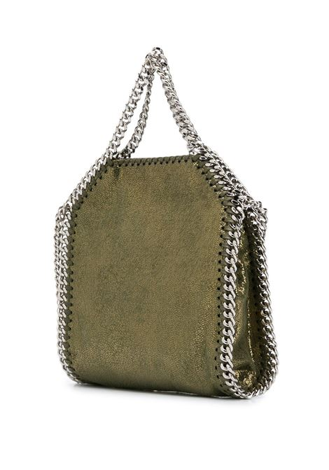 Green mini Falabella shoulder bag featuring chain-link shoulder strap STELLA MC CARTNEY |  | 391698-W87452942