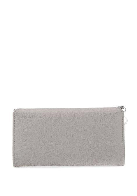 Portafoglio Falabella grigio con catena argentata STELLA MC CARTNEY | Portafogli | 430999-W91321220
