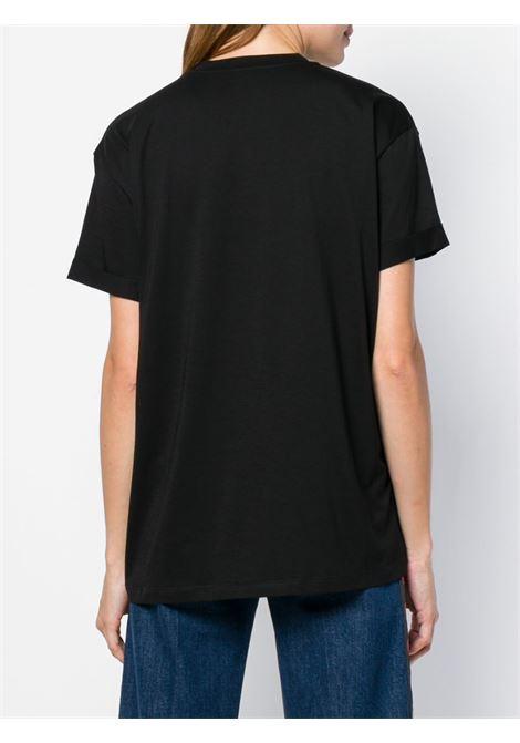 t-shirt jersey cotone giro collo m/m stella swarovsky petto STELLA MC CARTNEY | T-shirt | 457142-SLW231000