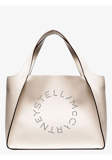 borsa tote Stella Logo in eco-pelle color avorio STELLA MC CARTNEY | Borse tote | 502793-W85429000