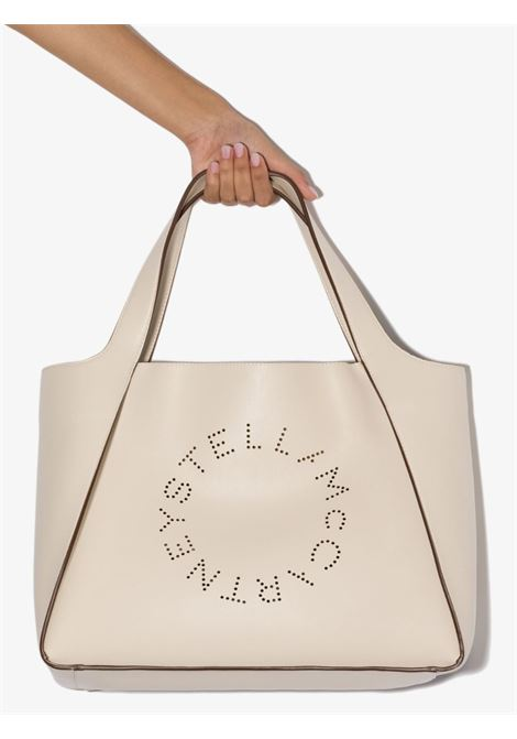 ivory eco-leather Stella Logo tote bag STELLA MC CARTNEY |  | 502793-W85429000
