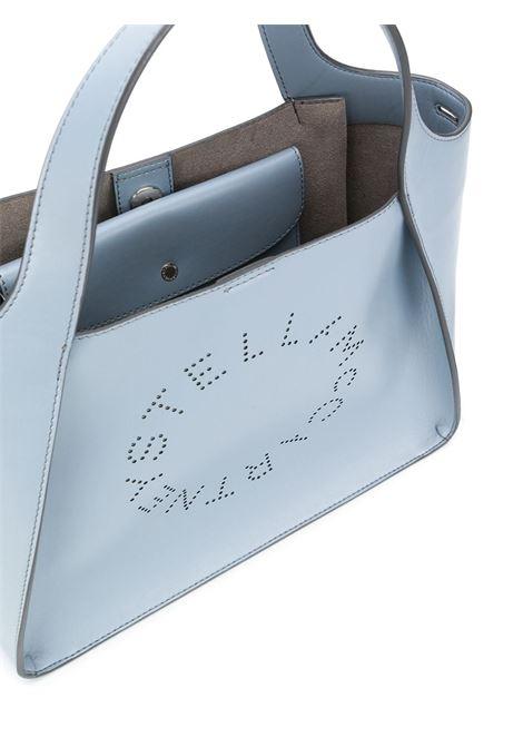 Borsa tote Stella Logo in poliuretano blu STELLA MC CARTNEY | Borse a tracolla | 513860-W85424911