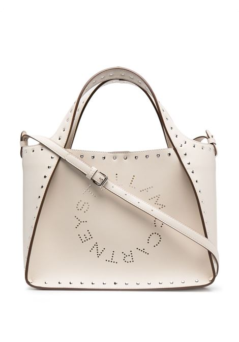 White faux leather Stella Logo studded tote bag STELLA MC CARTNEY |  | 513860-W88109000