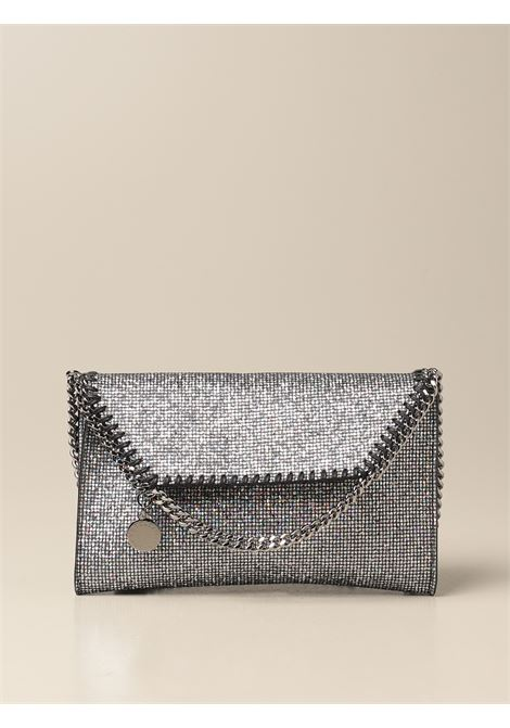 Silver-tone Falabella glitter crossbody bag  STELLA MC CARTNEY |  | 581238-W88021111