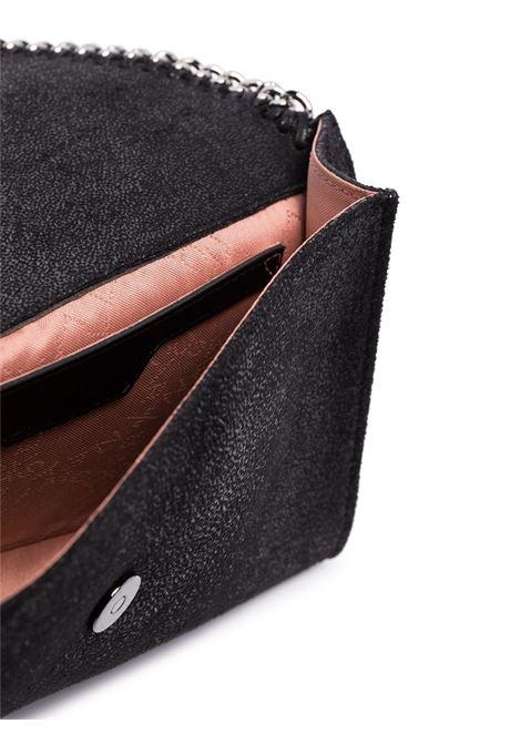 Borsa a tracolla piccola Falabella in ecopelle nera con dettagli in metallo argentato STELLA MC CARTNEY | Borse a tracolla | 581238-W91321000