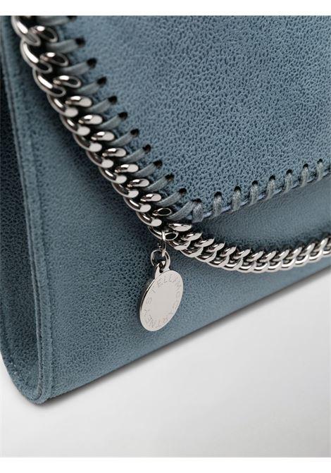 Borsa a tracolla Falabella in ecopelle blu con catene argentate STELLA MC CARTNEY | Borse a tracolla | 581238-W91324313