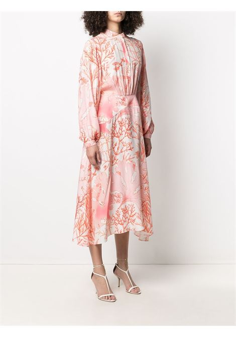 silk coral-print maxi-dress STELLA MC CARTNEY |  | 603102-SRA599515