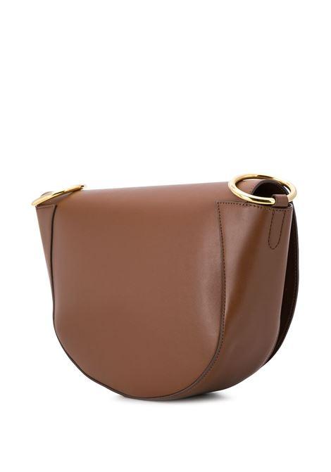 saddle bag in ecopelle marrone STELLA MC CARTNEY | Borse a tracolla | 700082-W85427773