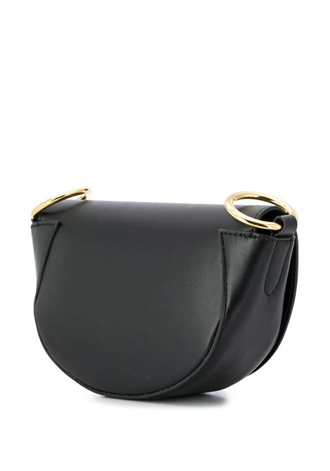mini saddle bag nera in ecopelle STELLA MC CARTNEY | Borse a tracolla | 700083-W85421000