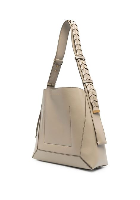 Bamboo faux-leather medium Hobo shoulder bag  STELLA MC CARTNEY |  | 700167-W87759809
