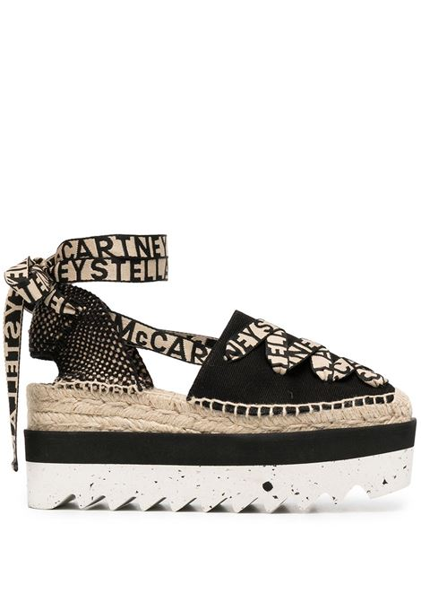Black canvas Gaia platform espadrilles   STELLA MC CARTNEY |  | 800159-N02221073
